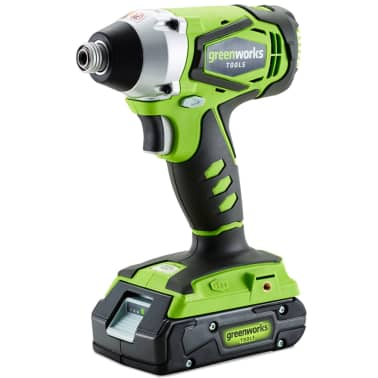 Greenworks Cordless Impact Driver without 24 V Battery G24ID 3801307