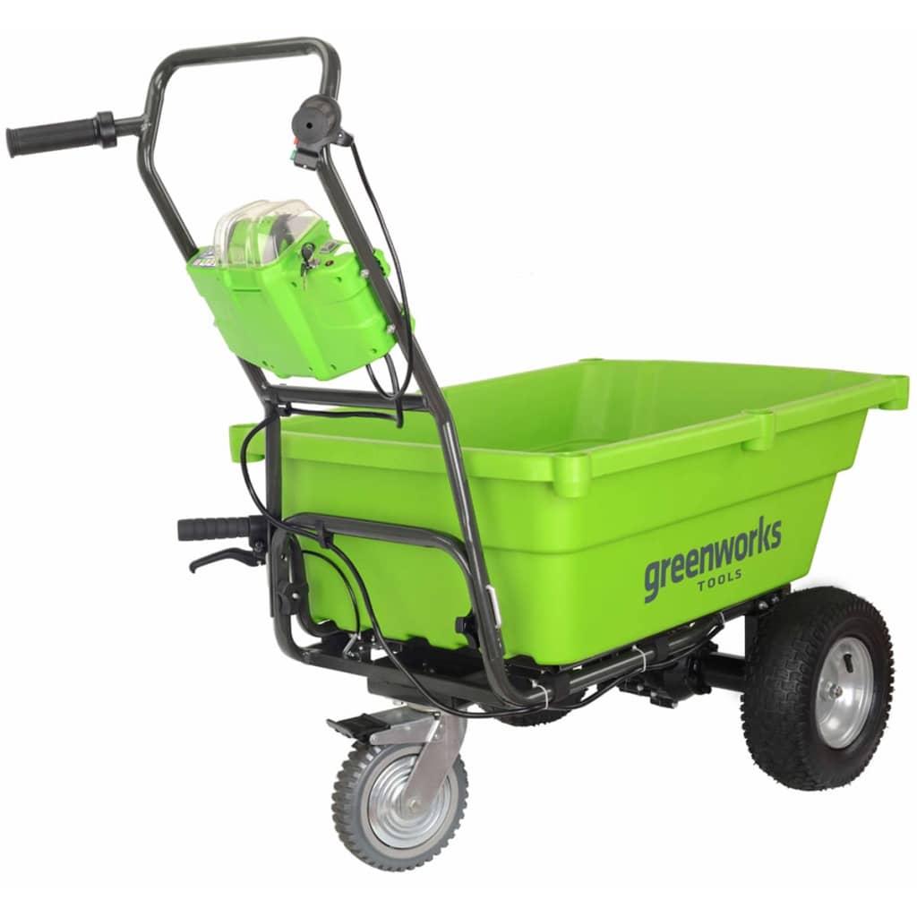 Afbeelding van Greenworks Tuinwagen zelfrijdend zonder 40 V accu G40GC 7400007