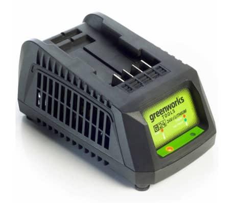 Greenworks Universal batteriladdare G24UC 24 V 2,2 A 2913907