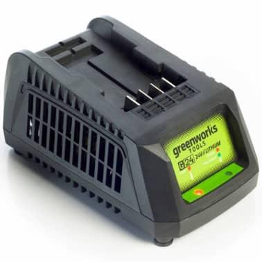 Greenworks Chargeur de batterie universel G24UC 24 V 2,2 A 2913907[1/2]
