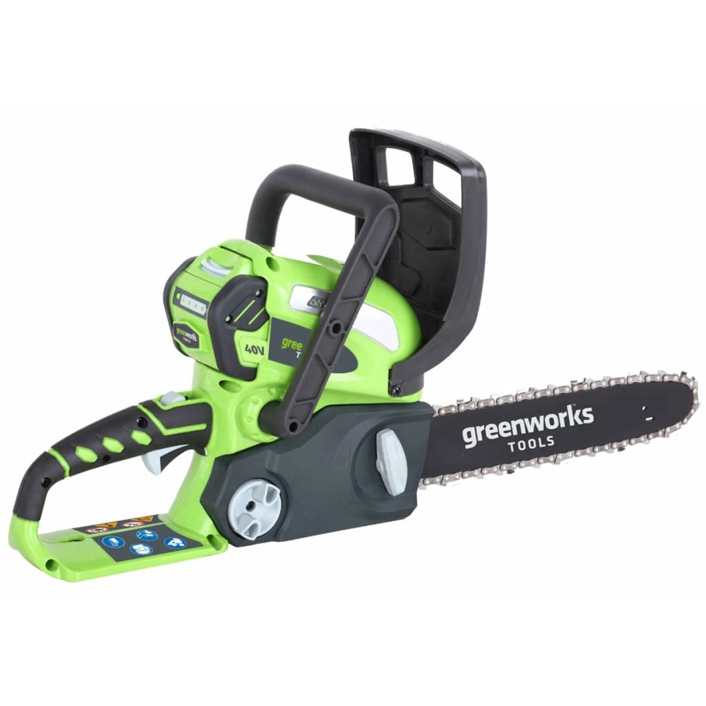 Greenworks Kit Motosega a Batteria da 40V 4Ah GD40CS30 30cm 20117UA