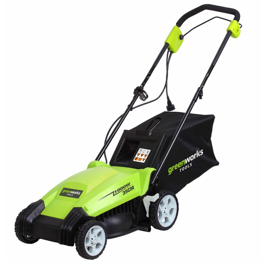 Greenworks Mașină de tuns iarba electrică GLM1035 230 V 35 cm 2505107 imagine vidaxl.ro