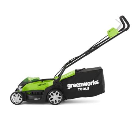 Greenworks Mașină tuns iarba 2 x baterie 2 Ah 40 V G40LM35, 2501907UC[6/6]
