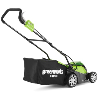Greenworks Mașină tuns iarba 2 x baterie 2 Ah 40 V G40LM35, 2501907UC[2/6]