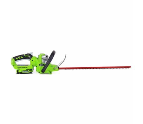 Greenworks Heckenschere Deluxe G24HT57 mit 24 V-Akku 2200107UA[2/3]