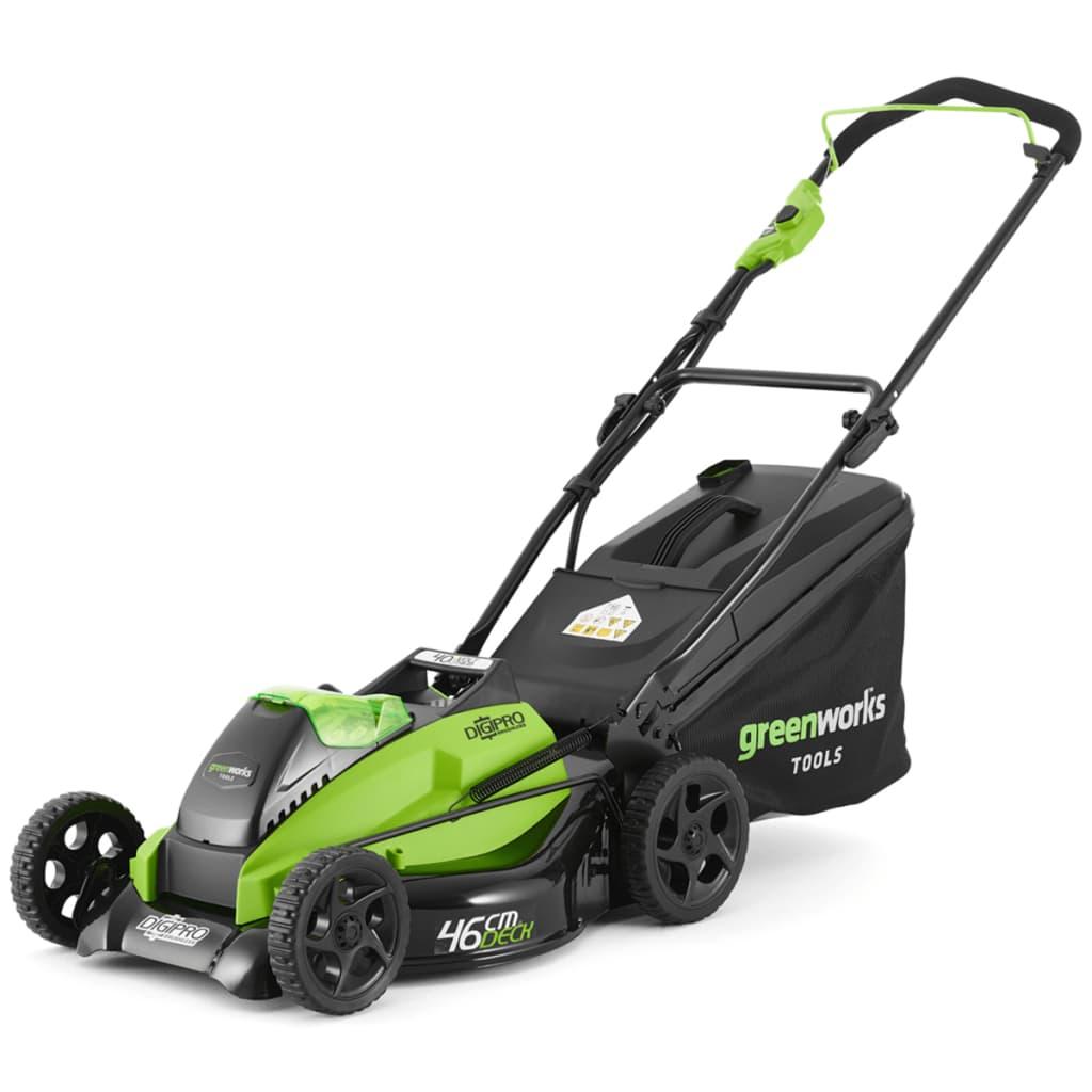 Greenworks Mașină de tuns iarba fără baterie 40 V GD40LM45 2500407UB vidaxl.ro
