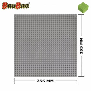 Placa base gris 8482 de BanBao[2/4]