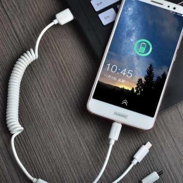 Handla ®DUDAO 3in1 Billaddare 2X USB iPhoneSamsungHuawei m