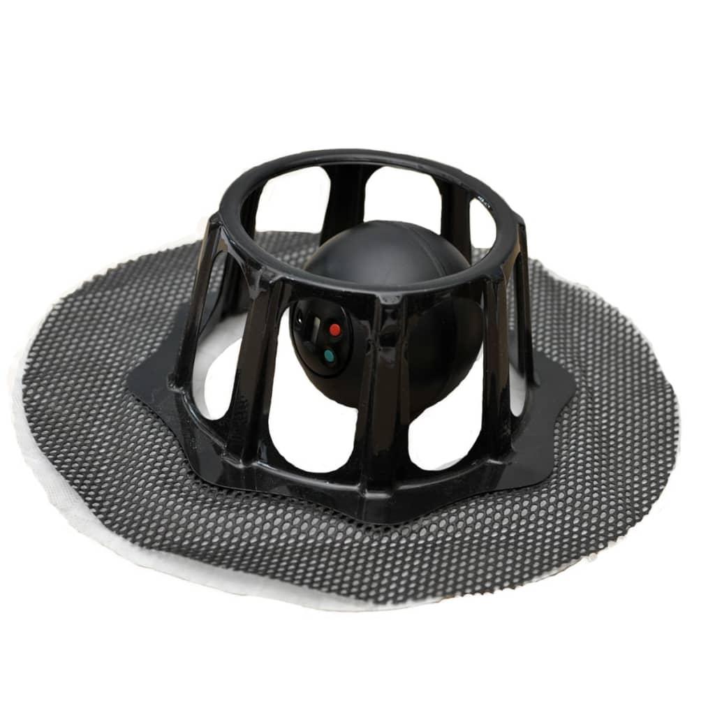 Afbeelding van Robomop Robotdweil zacht zwart ROM002