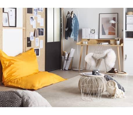 sitzsack mit innensack 140 x 180 cm gelb im vidaxl trendshop. Black Bedroom Furniture Sets. Home Design Ideas