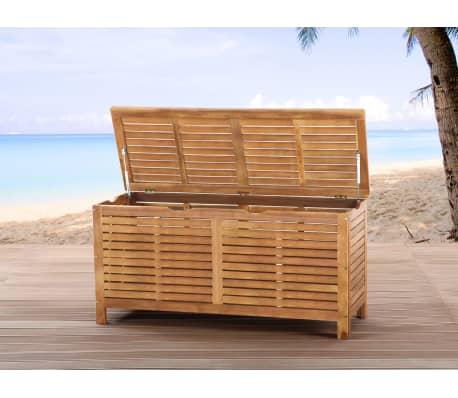 acheter coffre en bois coffre coussins de jardin riviera pas cher. Black Bedroom Furniture Sets. Home Design Ideas