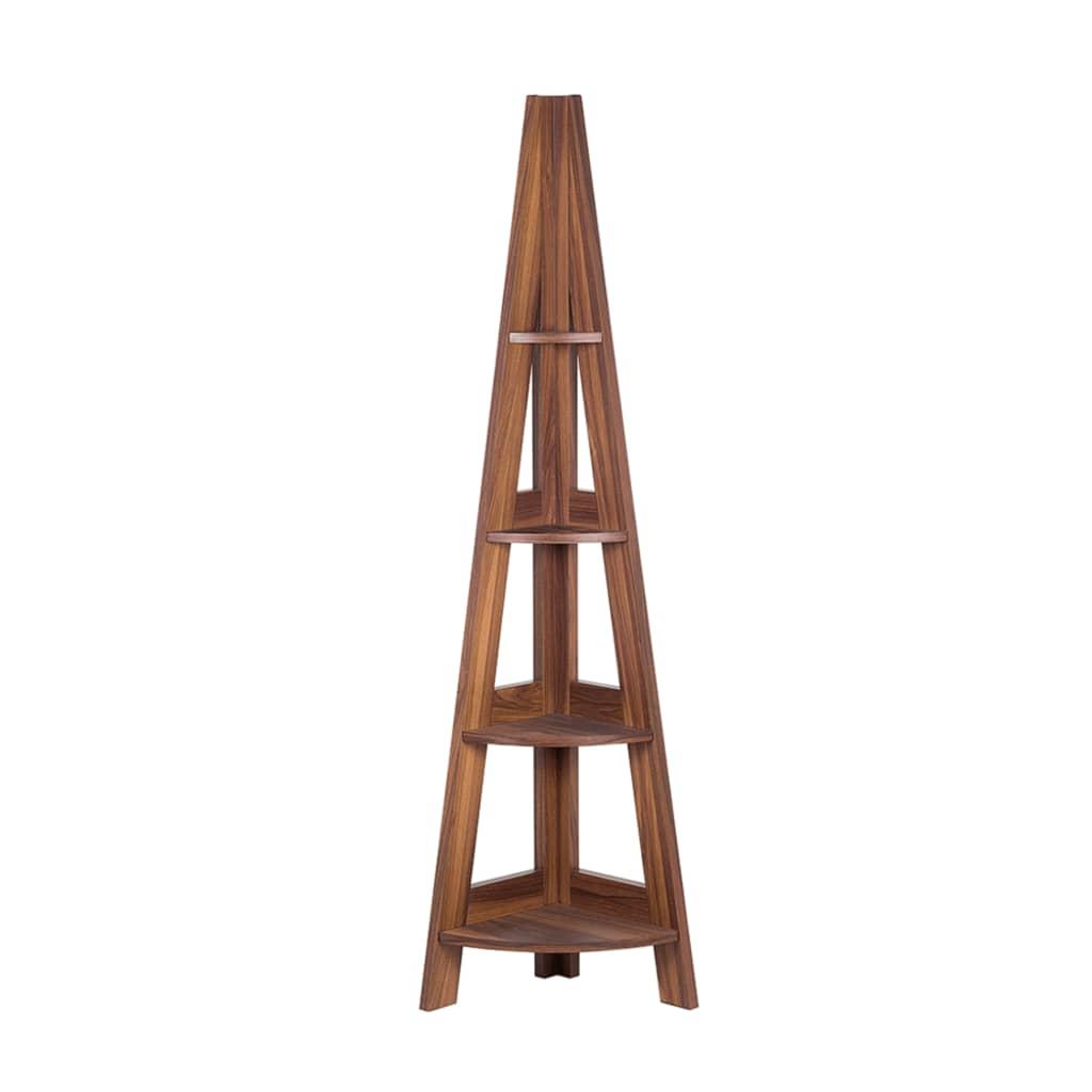Afbeelding van Beliani Mobile Solo Kast Verlijmd hout bruin 51x36cm