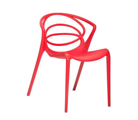 acheter chaise de jardin design si ge en plastique rouge bend pas cher. Black Bedroom Furniture Sets. Home Design Ideas