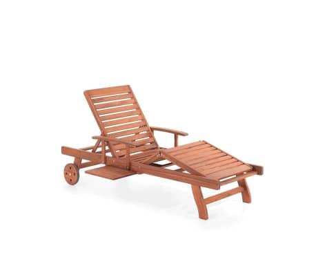acheter transat en bois chaise longue inclinable toscana pas cher. Black Bedroom Furniture Sets. Home Design Ideas