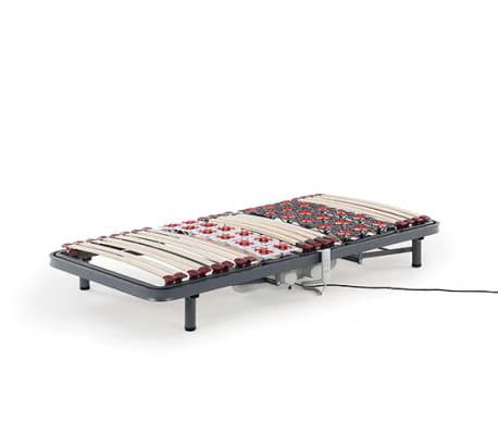 sommier lattes lectrique inclinaison r glable 90x200 cm moon. Black Bedroom Furniture Sets. Home Design Ideas
