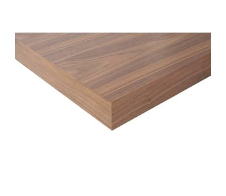 acheter lit design 180x200 cm cadre avec chevets int gr s en bois marron c pas cher. Black Bedroom Furniture Sets. Home Design Ideas