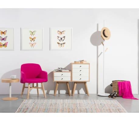 kommode braun weiss phoenix g nstig kaufen. Black Bedroom Furniture Sets. Home Design Ideas