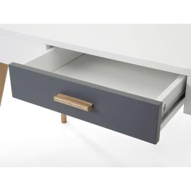 schreibtisch weiss 120 x 55 cm rush im vidaxl trendshop. Black Bedroom Furniture Sets. Home Design Ideas