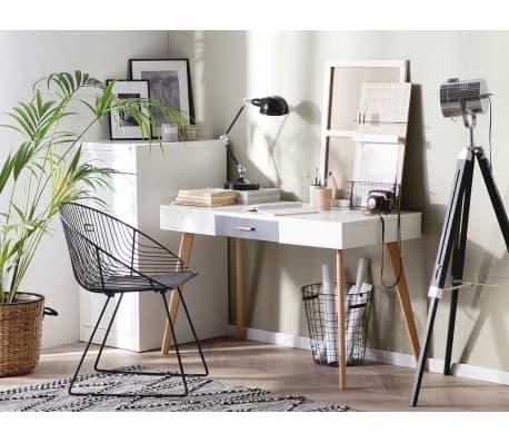 schreibtisch weiss 120 x 55 cm rush g nstig kaufen. Black Bedroom Furniture Sets. Home Design Ideas
