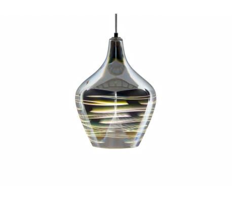 Lámpara de techo en cristal cromado SANGONE[2/12]