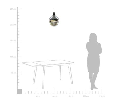 Lámpara de techo en cristal cromado SANGONE[3/12]