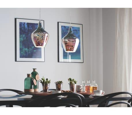 Lámpara de techo en cristal cromado SANGONE[4/12]