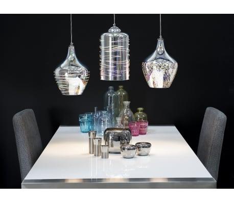 Lámpara de techo en cristal cromado SANGONE[5/12]