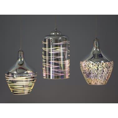 Lámpara de techo en cristal cromado SANGONE[6/12]