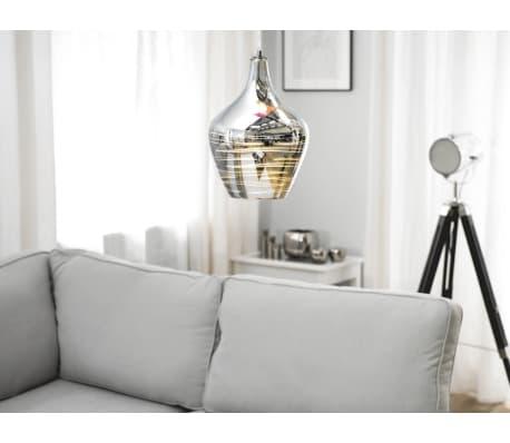 Lámpara de techo en cristal cromado SANGONE[1/12]