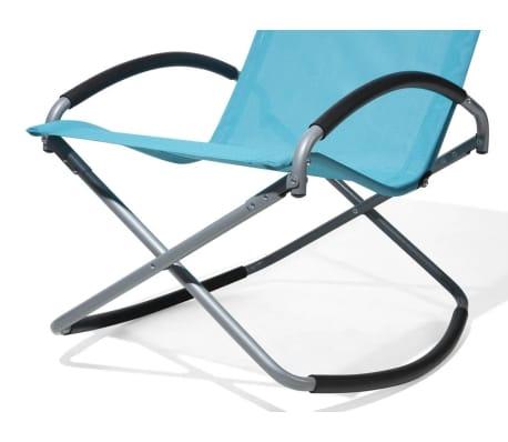 acheter chaise de jardin pliable bleue casto pas cher. Black Bedroom Furniture Sets. Home Design Ideas