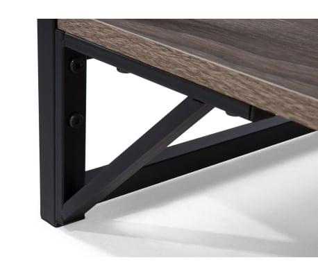 acheter table basse plaqu en bois de ch ne logan pas cher. Black Bedroom Furniture Sets. Home Design Ideas