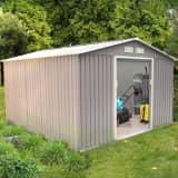 Abri de jardin10.85 m² en acier anti-corrosion
