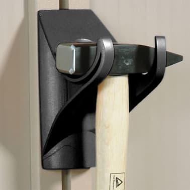 Keter Regal-Bausatz für Geräteschuppen 164 cm Schwarz 153395[5/6]