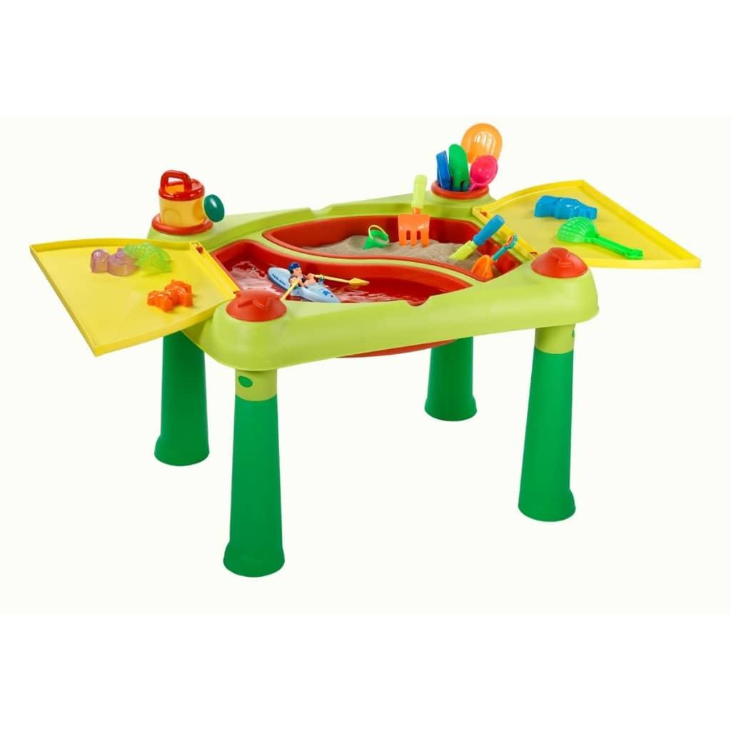 """Keter Masă de joacă """"Sand & Water"""", roșu și galben, 178668 poza 2021 Keter"""