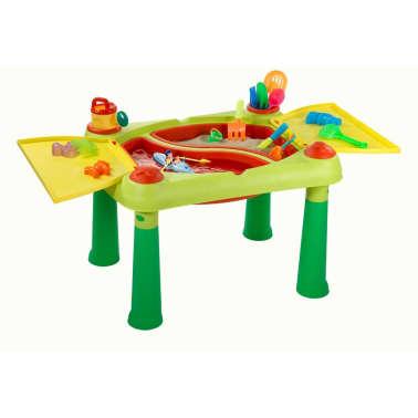 Keter Žaidimų stalas Sand & Water, raudonas ir geltonas, 178668[2/6]