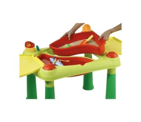 Keter Žaidimų stalas Sand & Water, raudonas ir geltonas, 178668[3/6]