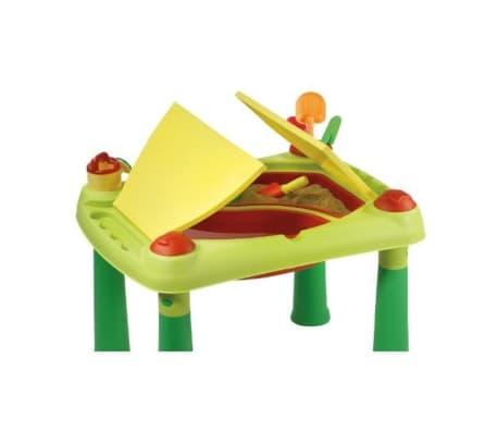 Keter Žaidimų stalas Sand & Water, raudonas ir geltonas, 178668[4/6]
