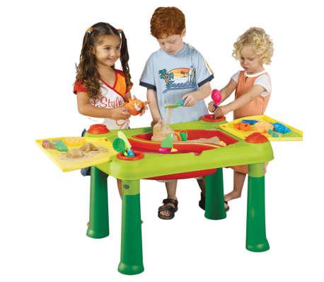 Keter Žaidimų stalas Sand & Water, raudonas ir geltonas, 178668[6/6]