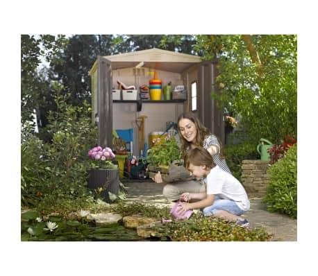 acheter keter abri de jardin factor 6x6 211249 pas cher. Black Bedroom Furniture Sets. Home Design Ideas