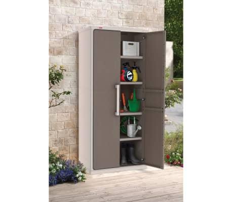 keter gartenschrank ger teschrank kunststoff optima wonder. Black Bedroom Furniture Sets. Home Design Ideas