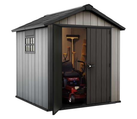 keter abri de jardin oakland 757 226432. Black Bedroom Furniture Sets. Home Design Ideas