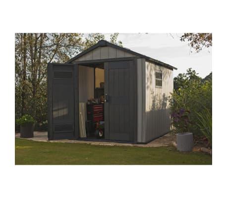 keter abri de jardin oakland 759 226433. Black Bedroom Furniture Sets. Home Design Ideas