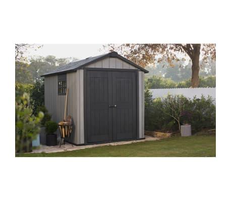 keter storage shed oakland 759 226433. Black Bedroom Furniture Sets. Home Design Ideas