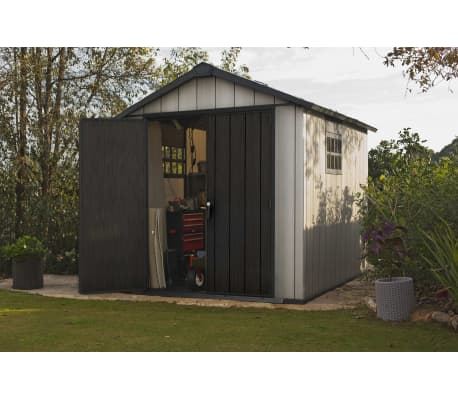 acheter keter abri de jardin oakland 7511 226435 pas cher. Black Bedroom Furniture Sets. Home Design Ideas