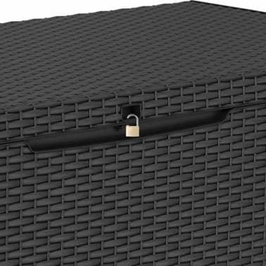 vidaXL Vrtna škatla za shranjevanje Capri 302 L[3/7]