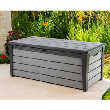 keter caja de almacenaje para jard n brushwood 455 l