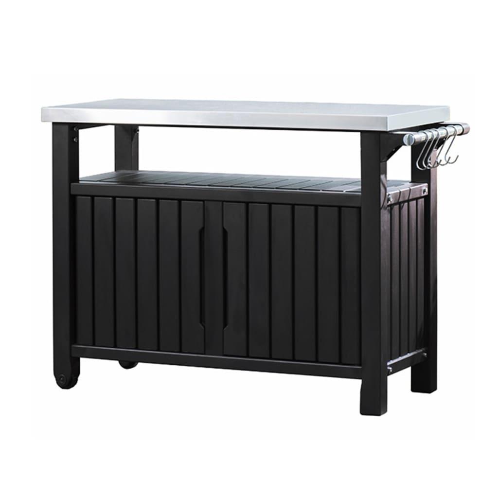 Keter Τραπέζι Unity Εξωτερικού Χώρου Πολυλειτουργικό για BBQ XL 228934