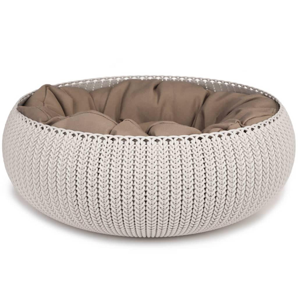 Afbeelding van Curver cozy pet bed creme 50