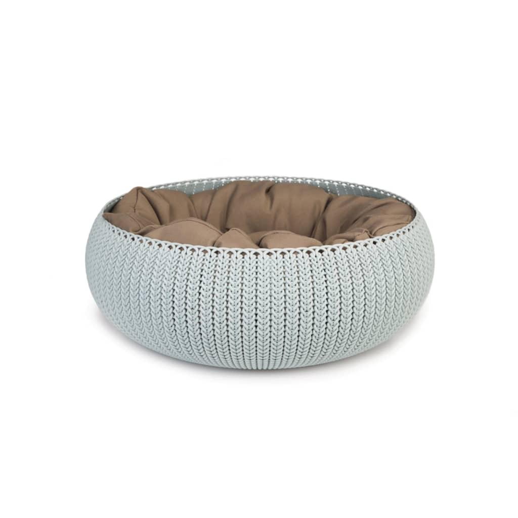 Afbeelding van Curver cozy pet bed lichtblauw 50