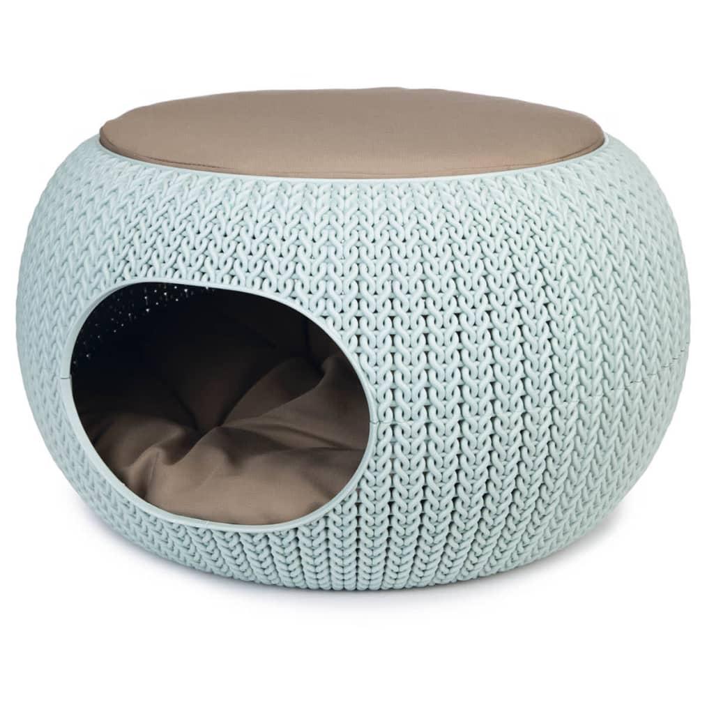 Afbeelding van Curver cozy pet home lichtblauw 55